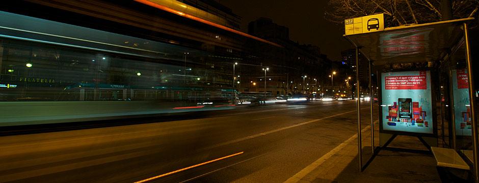 Nits de transport. Reportatge fotogràfic transport metropolità