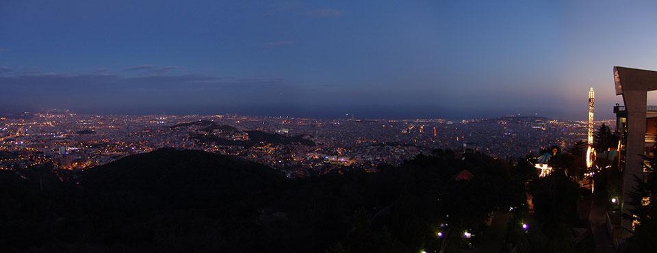 Barcelona des dels seus límits. Reportatge fotogràfic