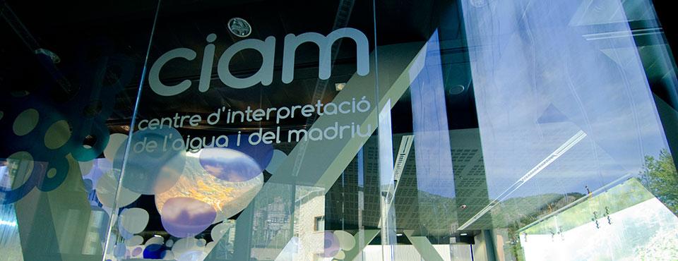 CIAM. Centre d'Interpretació de l'aigua i del Madriu